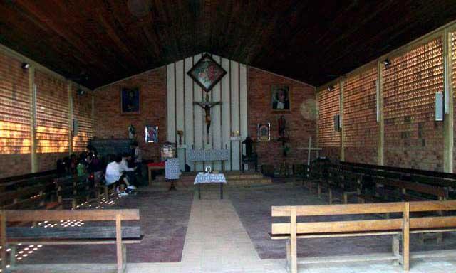 Interior de la Capilla de San Juan