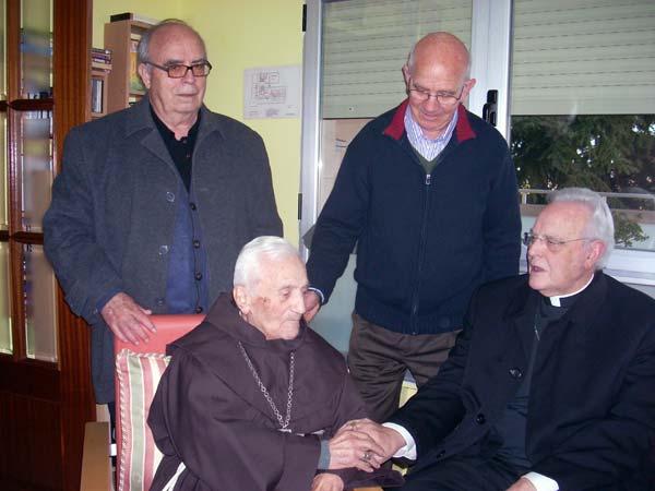 Con el Cardenal Amigo